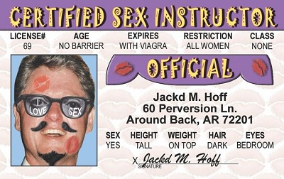 Sex Instructor ID