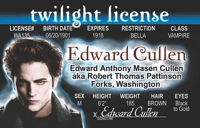 Twilight - Edward  ID
