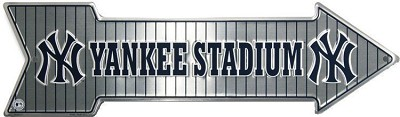 New York Yankees Stadium Arrow Sign