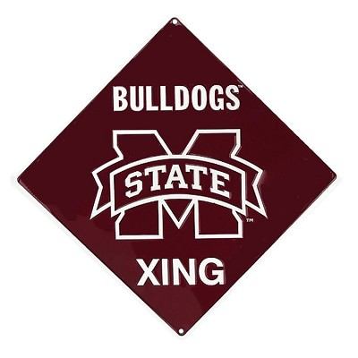 Mississippi State Bulldogs College Crossing Sign