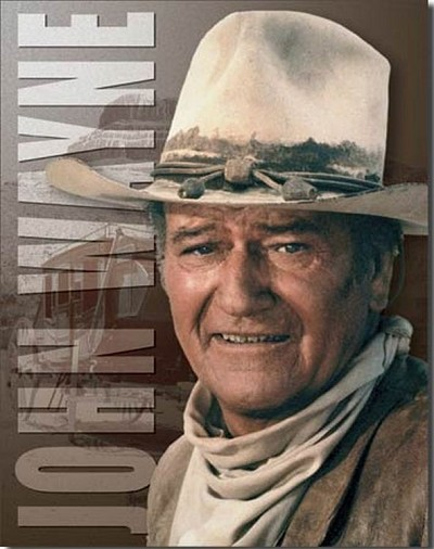 John Wayne - Stagecoach Metal Tin Sign