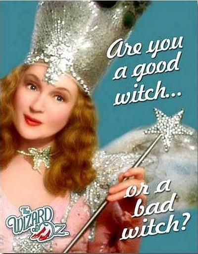 Wiz of Oz Glinda Good Witch Metal Tin Sign