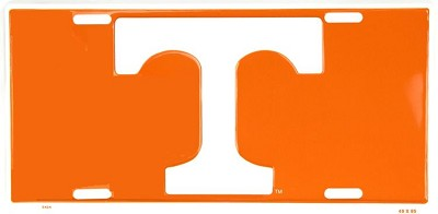 Tennessee Orange License Plate