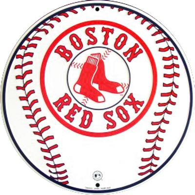 Boston Red Sox Round Sign