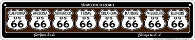 Route 66 Get Your Kicks - Shields Street Sign